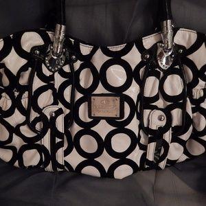 Valentino Garavani White and Black Bag